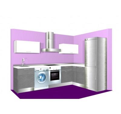 cocina en l estndar mate - Cocinas En Ele
