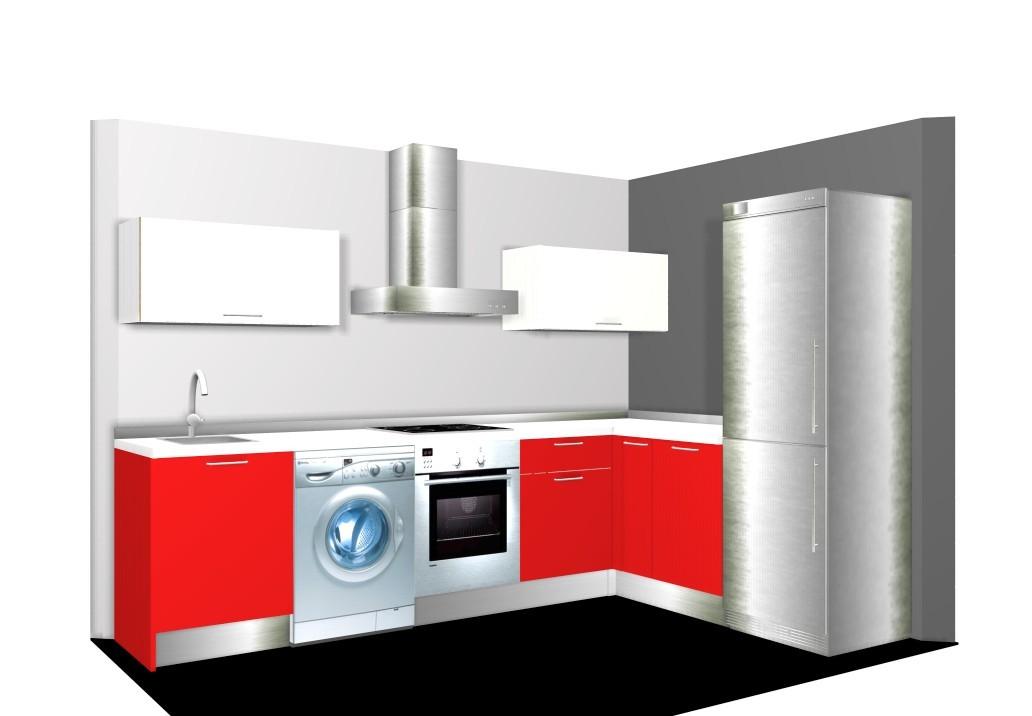 Casas cocinas mueble ikea servicio montaje cocina en ele for Cocinas en ele